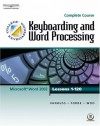 Keyboarding & Word Processing, Complete Course, Lessons 1-120 - Susie H. VanHuss, Connie M. Forde, Donna L. Woo