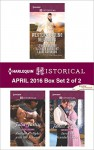 Harlequin Historical April 2016 - Box Set 2 of 2: The City Girl and the RancherHis Springtime BrideWhen a Cowboy Says I DoForbidden Nights with the ViscountSaved by Scandal's Heir - Lynna Banning, Kathryn Albright, Lauri Robinson, Julia Justiss, Janice Preston