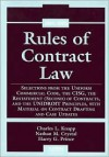 Rules of Contract Law, 2005-2006 Supplement - Charles L. Knapp, Nathan M. Crystal, Harry G. Prince