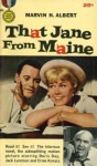 That Jane From Maine - Marvin H. Albert
