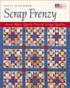 Scrap Frenzy: All New Quick-Pieced Scrap Quilts - Sally Schneider