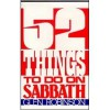 Fifty-Two Things to Do on Sabbath - Glen Robinson