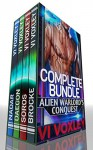 Alien Warlord's Conquest: Complete Series (SciFi Alien-Human Military Romance) - Vi Voxley