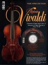 Music Minus One Violin: Vivaldi Violin Concerto in E major, op. 3, no. 12, RV265; Violin Concerto in C major, op. 8, no.6, RV180 'II Piacere' (Book & CD) - Music Minus One