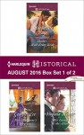 Harlequin Historical August 2016 - Box Set 1 of 2: Sheikh's Mail-Order BrideMiss Marianne's DisgraceHer Enemy at the Altar (Hot Arabian Nights) - Marguerite Kaye, Georgie Lee, Virginia Heath