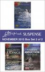 Love Inspired Suspense November 2015 - Box Set 2 of 2: Murder Under the MistletoeDangerous TidingsYuletide Abduction (Northern Border Patrol) - Terri Reed, Dana Mentink, Virginia Vaughan