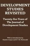 Development Studies Revisited: Twenty-Five Years of the Journal of Development Studies - Charles Cooper