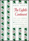 The Eighth Continent (Morse Poetry Prize) - Don Boes, A.R. Ammons