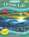 Exploring Ocean Life, Grades 1-2 [With Full-Color Transparencies of Wyland Art] - Melissa Hart