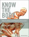 Know the Body: Muscle, Bone, and Palpation Essentials [With CDROM] - Joseph E. Muscolino