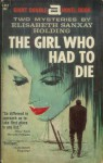 The Girl Who Had to Die - Elisabeth Sanxay Holding