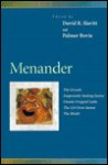 Menander: The Grouch, Desperately Seeking Justice, Closely Cropped Locks, the Girl from Samos, the Shield - Menander, David R. Slavitt