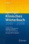 Springer Klinisches Warterbuch - Peter Reuter
