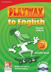 Playway to English Level 3 Activity Book [With CDROM] - Günter Gerngross, Herbert Puchta