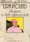 Aforismi e detti memorabili - Ezra Pound