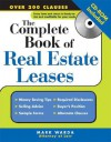 The Complete Book of Real Estate Leases [With CDROM] - Mark Warda