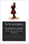 Kierkegaard: Construccion de Lo Estetico - Theodor W. Adorno