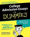 College Admission Essays For Dummies - Geraldine Woods