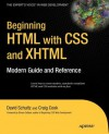 Beginning HTML with CSS and XHTML - David Schultz, Craig Cook