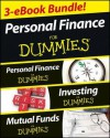 Personal Finance For Dummies Three eBook Bundle: Personal Finance For Dummies, Investing For Dummies, Mutual Funds For Dummies - Eric Tyson