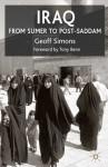Iraq: From Sumer to Post-Saddam - Geoff L. Simons, Tony Benn