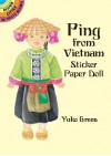 Ping from Vietnam Sticker Paper Doll - Yuko Green, Henry Green