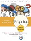 Physics Made Simple (Made Simple (Broadway Books)) - Christopher Gordon De Pree