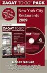 ZAGAT To Go Pack 2009 New York City Restaurants - Zagat Survey