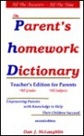 Parent's Homework Dictionary - Dan McLaughlin, Dan J. McLaughlin