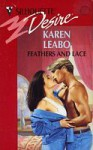 Feathers and Lace (Silhouette Desire, #824) - Karen Leabo
