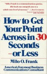 How To Get Your Point Across in 30 Secon - Milo O Frank