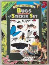Enter the World of Bugs : Panorama Book and Sticker Sets - Leslie Jay