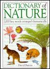 Dictionary of Nature - David Burnie