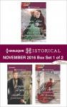 Harlequin Historical November 2016 - Box Set 1 of 2: Once Upon a Regency ChristmasThe Discerning Gentleman's GuideThe Runaway Governess - Virginia Heath, Liz Tyner