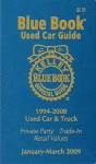 Kelley Blue Book Used Car Guide 1994-2008 Models: Consumer Edition - Les Kelley, Patricia A. DeBacker