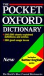 The Pocket Oxford Dictionary of Current English - Della Thompson