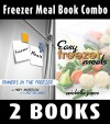 Freezer Meal Book Combo: Freezer Meals: Dinner's In the Freezer & Easy Freezer Meals - Michelle Jones, Mary Anderson, Christian Jones