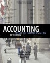 Accounting: What the Numbers Mean W/ Student Study Resource: Study Outline/Ready Notes/Solutions to Odd Number Problemsandnet Tutor Package - David Marshall, Daniel Viele, Wayne William McManus