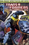 Transformers Regeneration One 100 Page Spectacular GRIMLOCK Cover - Furman, Wildman