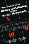 History and Criticism of the Marcan Hypothesis - Hans-Herbert Stoldt, Donald L. Niewyk, William R. Farmer
