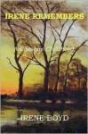 Irene Remembers - A Cheshire Childhood - Ellen Marion Irene Boyd