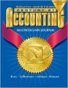 Century 21 Multicolumn Journal Accounting Anniversary Edition, Introductory Course Chapters 1-17, 7e: Anniversary Edition - Kenton E. Ross, Mark W. Lehman, Claudia B. Gilbertson