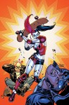 Harley Quinn Vol. 3: Kiss Kiss Bang Stab (New 52) - Chad Hardin, Amanda Conner, Jimmy Palmiotti