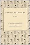 Langland & Allegory - Jill Mann
