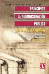 Principios de Administracin Pblica - Charles-Jean Bonnin, Fondo de Cultura Economica