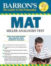 Barron's MAT: Miller Analogies Test - Karin Sternberg, Robert J. Sternberg