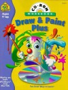 Draw & Paint Plus Interactive Workbook [With *] - Multimedia Zone Inc, School Zone Publishing Company, Lisa Sterns