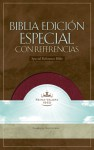 Biblia Edicion Especial con Referencias: 1960 Reina-Valera Revision (RVR), piel elaborada vino, indice (Special Reference Bible, burgundy bonded leather indexed) - Broadman and Holman Espanol Editorial Staff, Broadman and Holman Espanol Editorial Staff