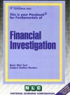 Financial Investigation - National Learning Corporation