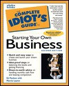 Complete Idiot's Guide to Starting Home-Based Busine (The Complete Idiot's Guide) - Weltman, Barbara Weltman